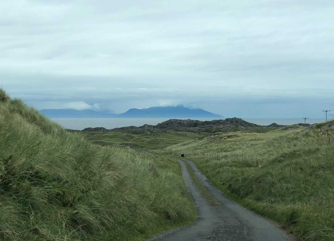 Isle of Coll, Windy Gap